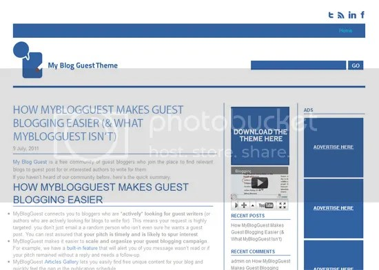 MyBlogGuest theme