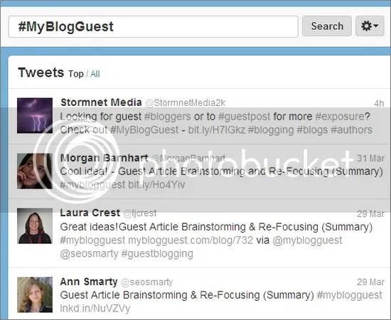 #myblogguest
