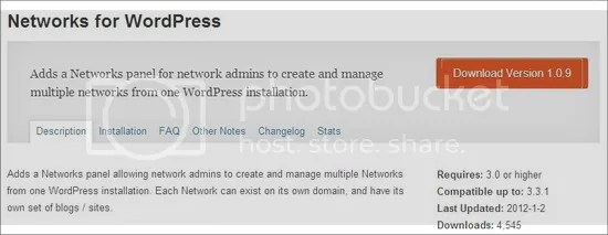 Networks for WordPress