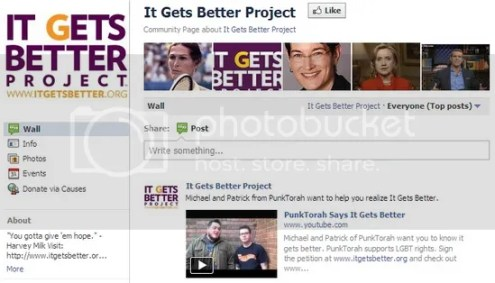 Facebook Promotions - It Gets Better