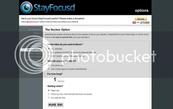 Stay Focused (Chrome)
