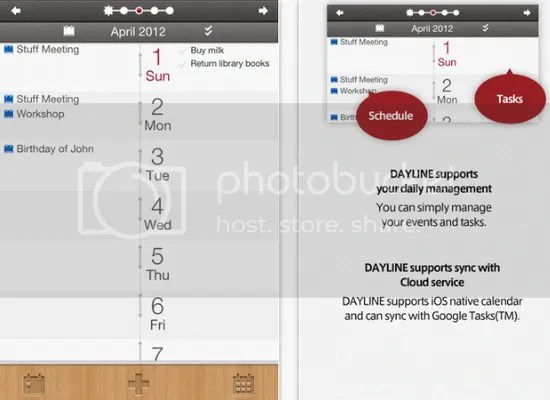 Dayline (Apple iOS)