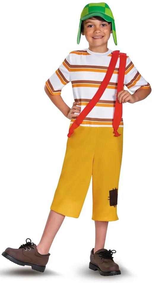 Boy Cartoon Character Costume