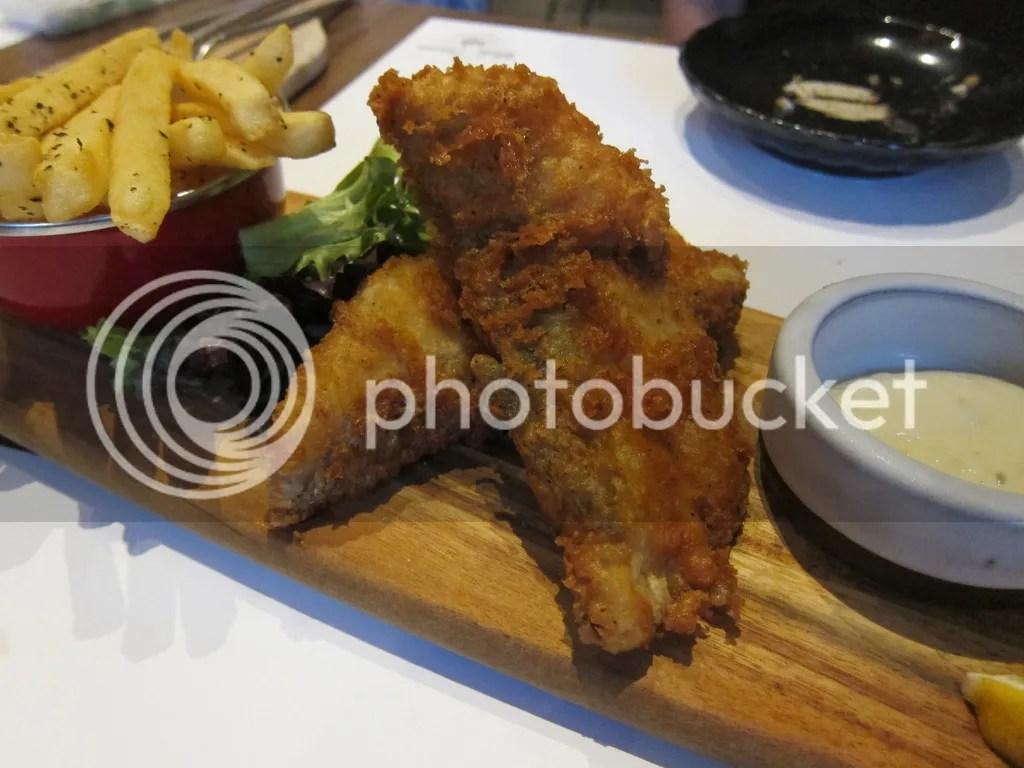 Lighthouse Bistro Tiger Fish & Fries