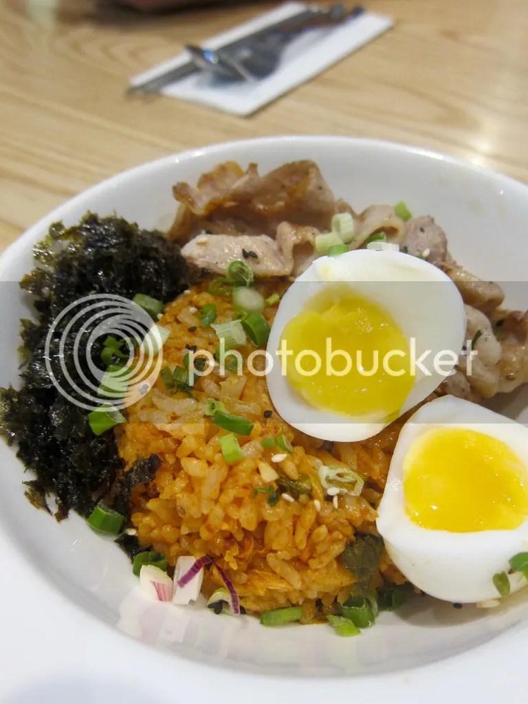 Sync Korean Fusion Bistro Kimchi Fried Rice