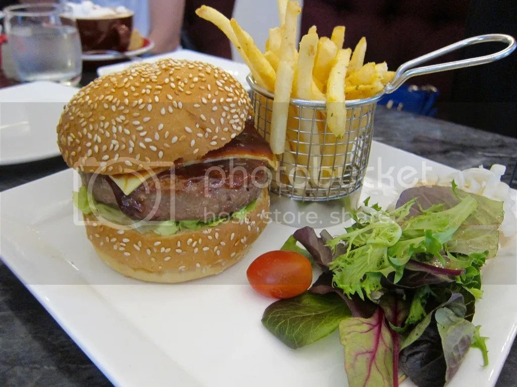 Atmosphere Cafe & Bistro Wagyu Burger