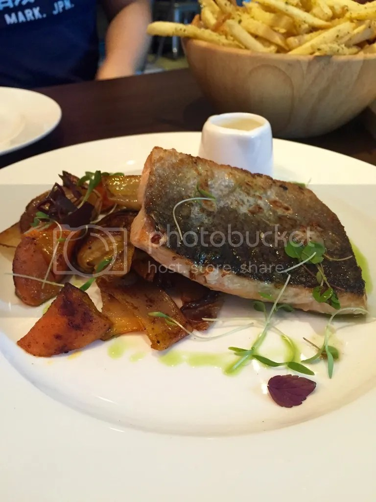 Froth Cafe Pan Fried Salmon