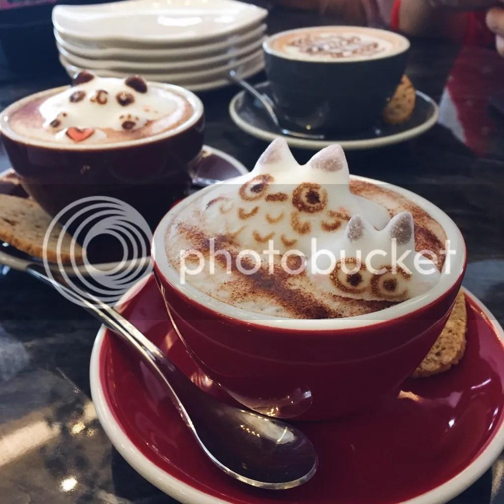 Atmosphere Cafe & Bistro 3D Latte Art