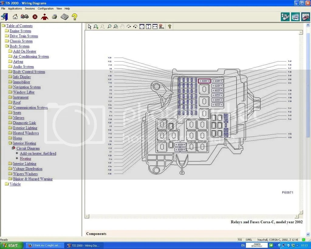 [WRG2586] Wiring Diagram For Vauxhall Corsa