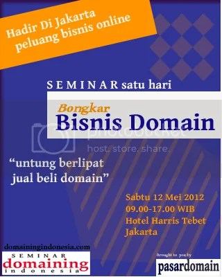 Seminar Domaining Indonesia