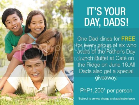 Taal Vista Hotel Father's day promo