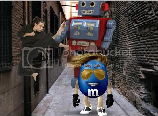 My M&M photo