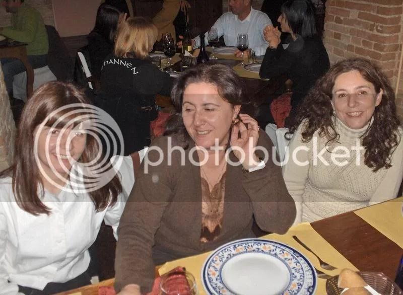 Con Gianna nella cena di Secondopiero.com