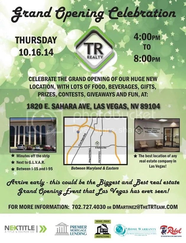 TR Realty Grand Opening celebration