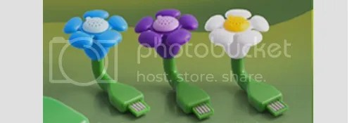 USB Flower Scent | 10 SPRING-ish Gadgets by Bloggeretterized