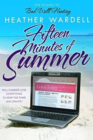 Fifteen Minutes of Summer by Heather Wardell Book Cover