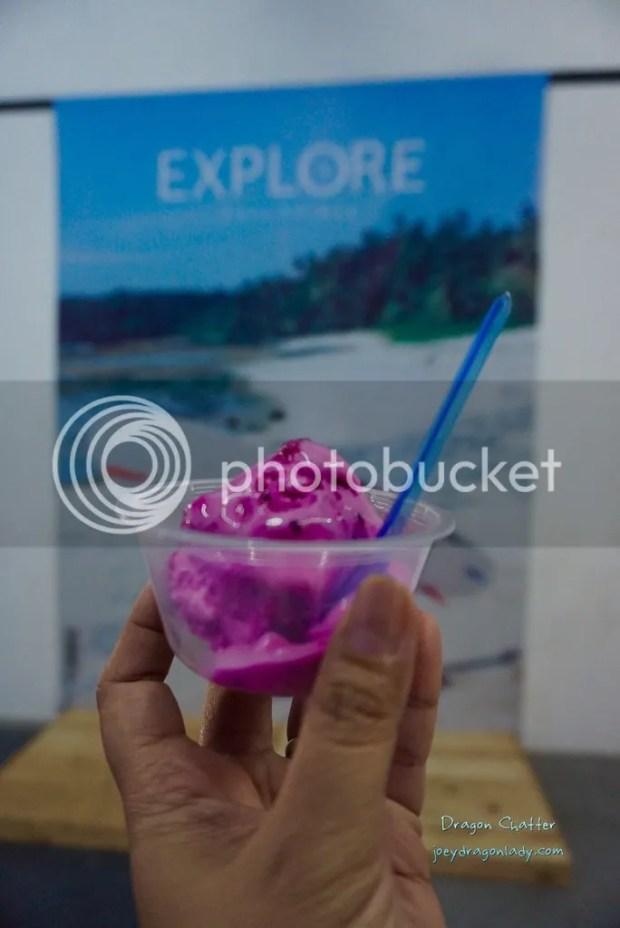 Dragon Fruit Ice Cream