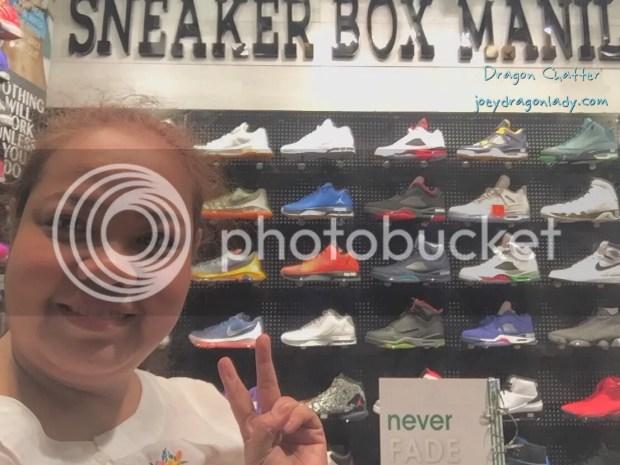 The Center display contains the Jordans, the concept store plan on focusing on Nike Jordan kicks