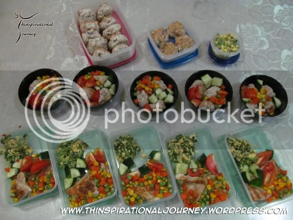 Lara Novales meal prep