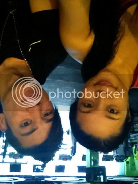 Lara Novales and Marty Laoang