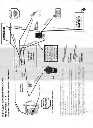 53 Jubilee 12 volt wiring diagram  Yesterday's Tractors