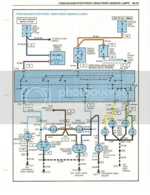 1984 Tail Light Wiring Diagram  CorvetteForum  Chevrolet