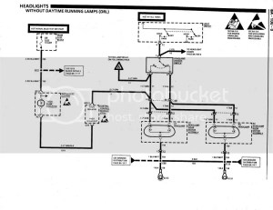 Headlight Wiring Diagram needed for 1990  CorvetteForum
