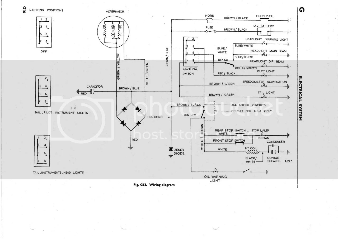 Bsa Wiring Diagram