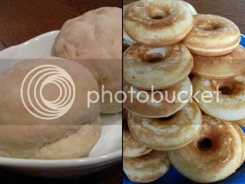 Shiroi Pan und Mini-Donuts
