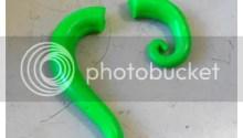 DIY false earring plugs {polymer clay tutorial} - step 3