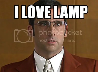 lamp, anchorman