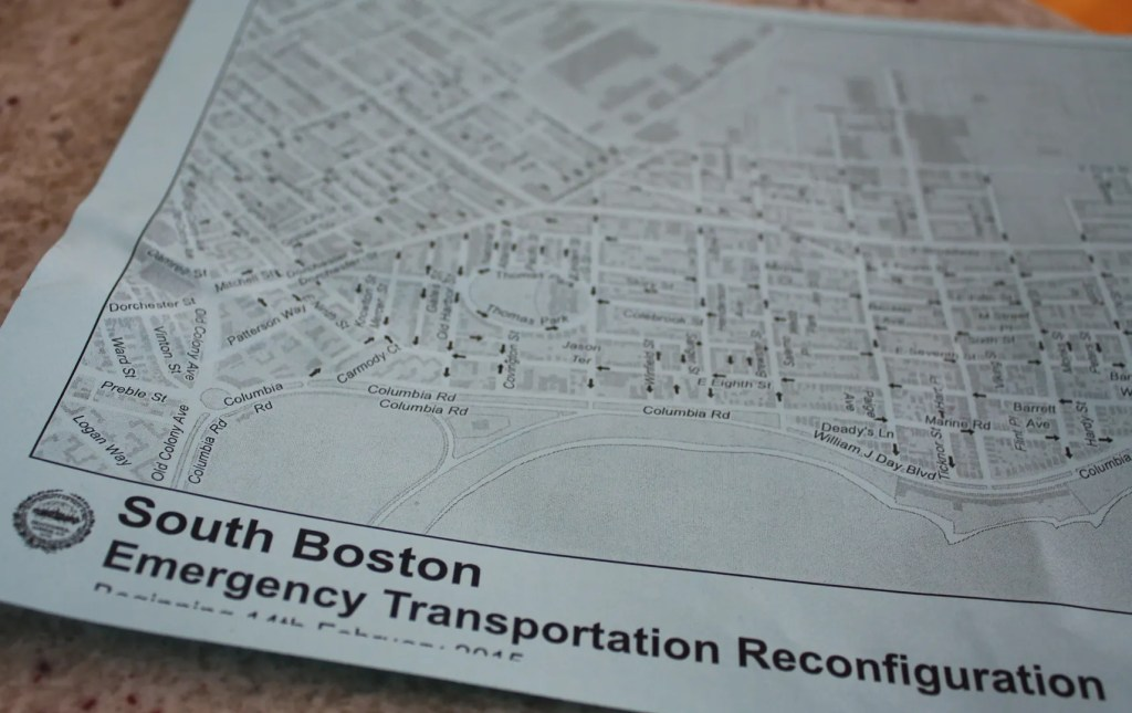 South Boston Emergency Transportation Reconfiguration