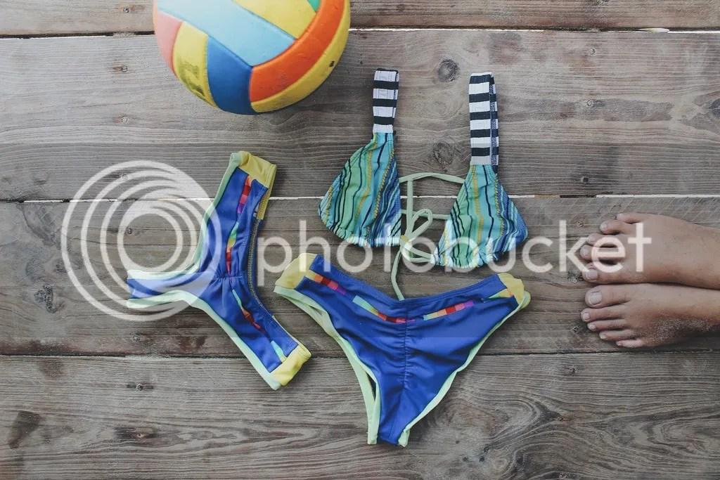 MIAHMO bikinis MH16014 top cruzado en la espalda panty con arruche anatomico