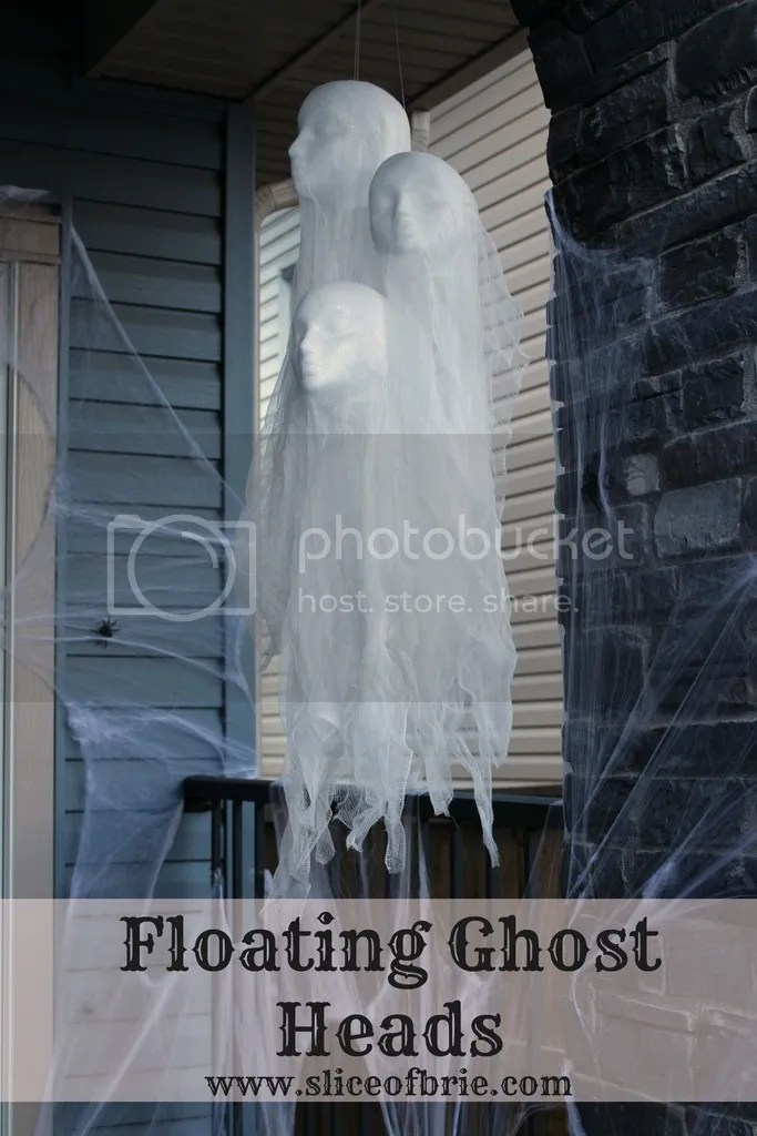 floating ghost heads
