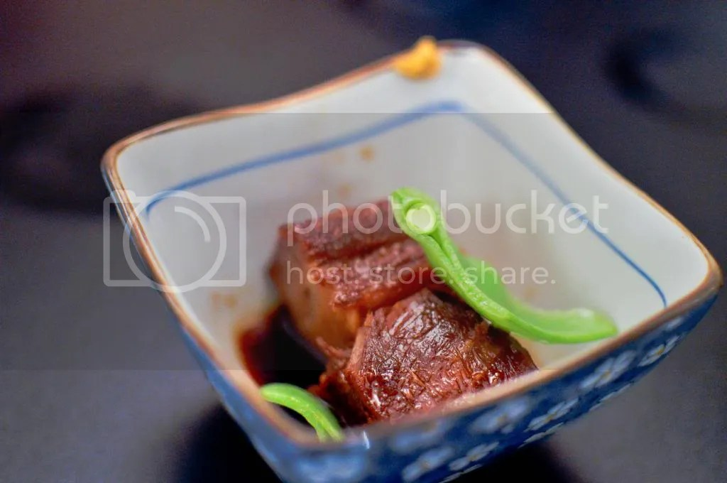 Japanese Style Simmered Pork (Yuuga Gozen)