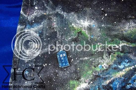 Falda Espacial: TARDIS