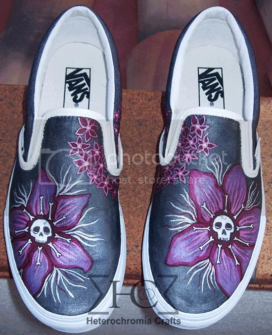 Zapatillas Vans Customizadas