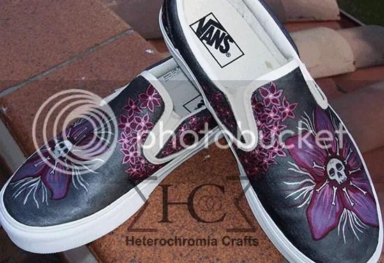 Zapatillas vans customizadas