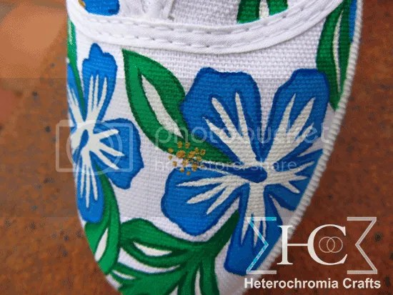 zapatillas shoes diy hawaii summer flowers