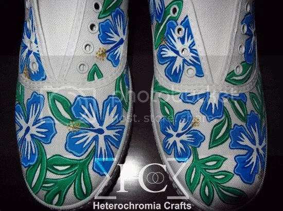 zapatillas shoes hawaii diy flowers summer