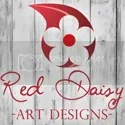 Red Daisy Art Designs