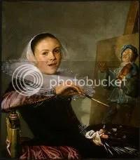 1633-35 Judith Leyster Självporträtt