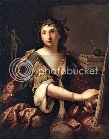 Elisabetta Sirani Självporträtt 1658