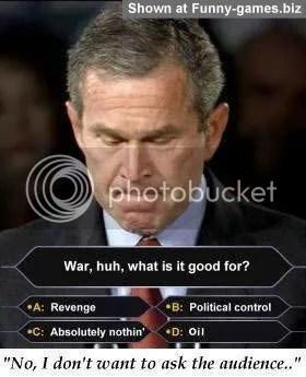 Bush miljonär