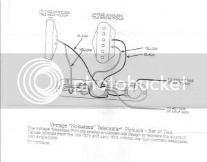 Fender Tele Vintage Noiseless Wiring | GuitarNutz 2