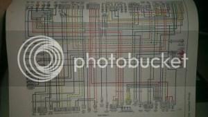 need wiring diagram for 1997 gsxr 600 (needs to have white wire)  Suzuki GSXR Motorcycle