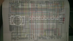 need wiring diagram for 1997 gsxr 600 (needs to have white