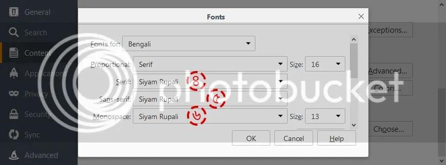 Change Font
