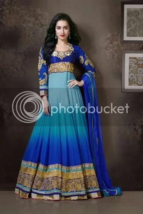 Shraddha Kapoor in Blue,Light Blue Suit