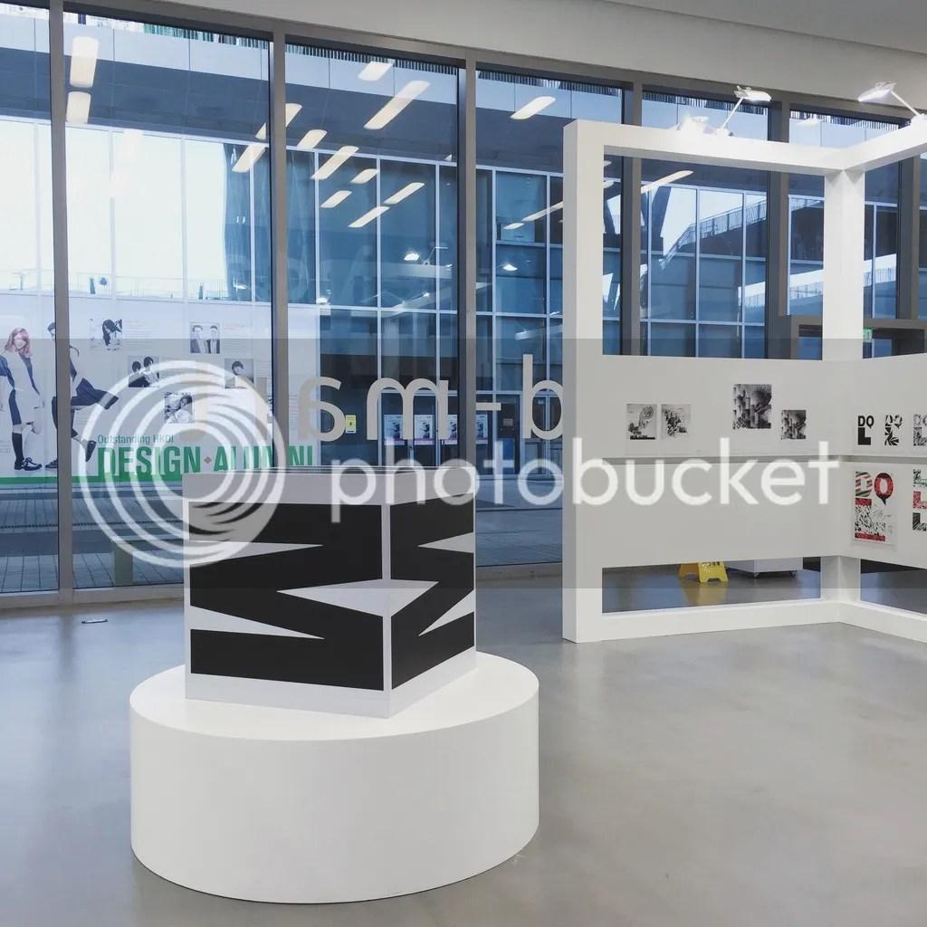 Weingart Typography exhibition in Hong Kong Design Institute